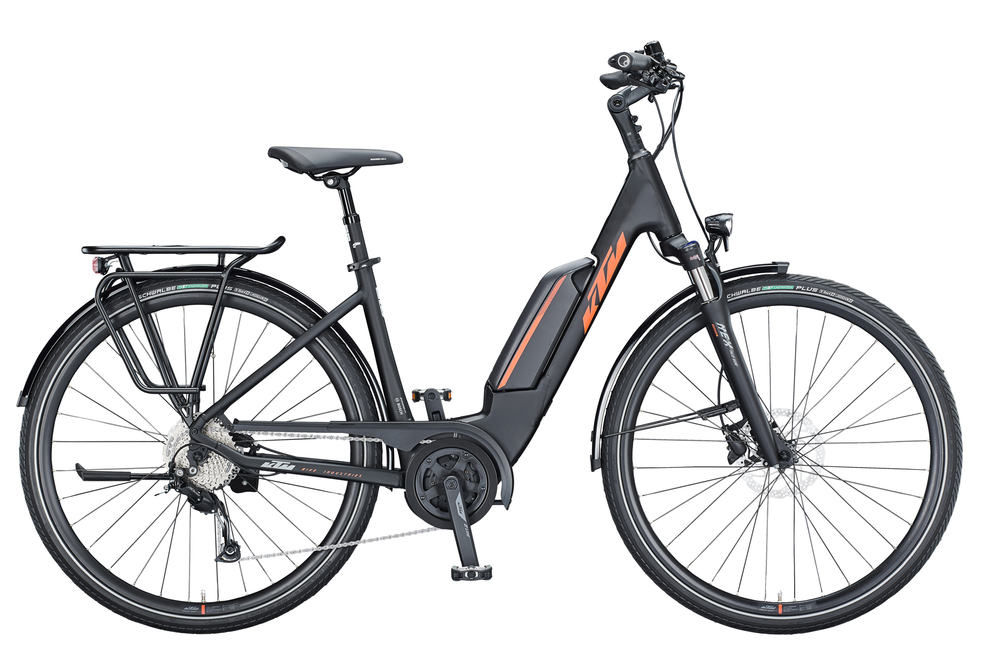 KTM Macina Fun A510 - Damen Wave schwarz / orange - 2021