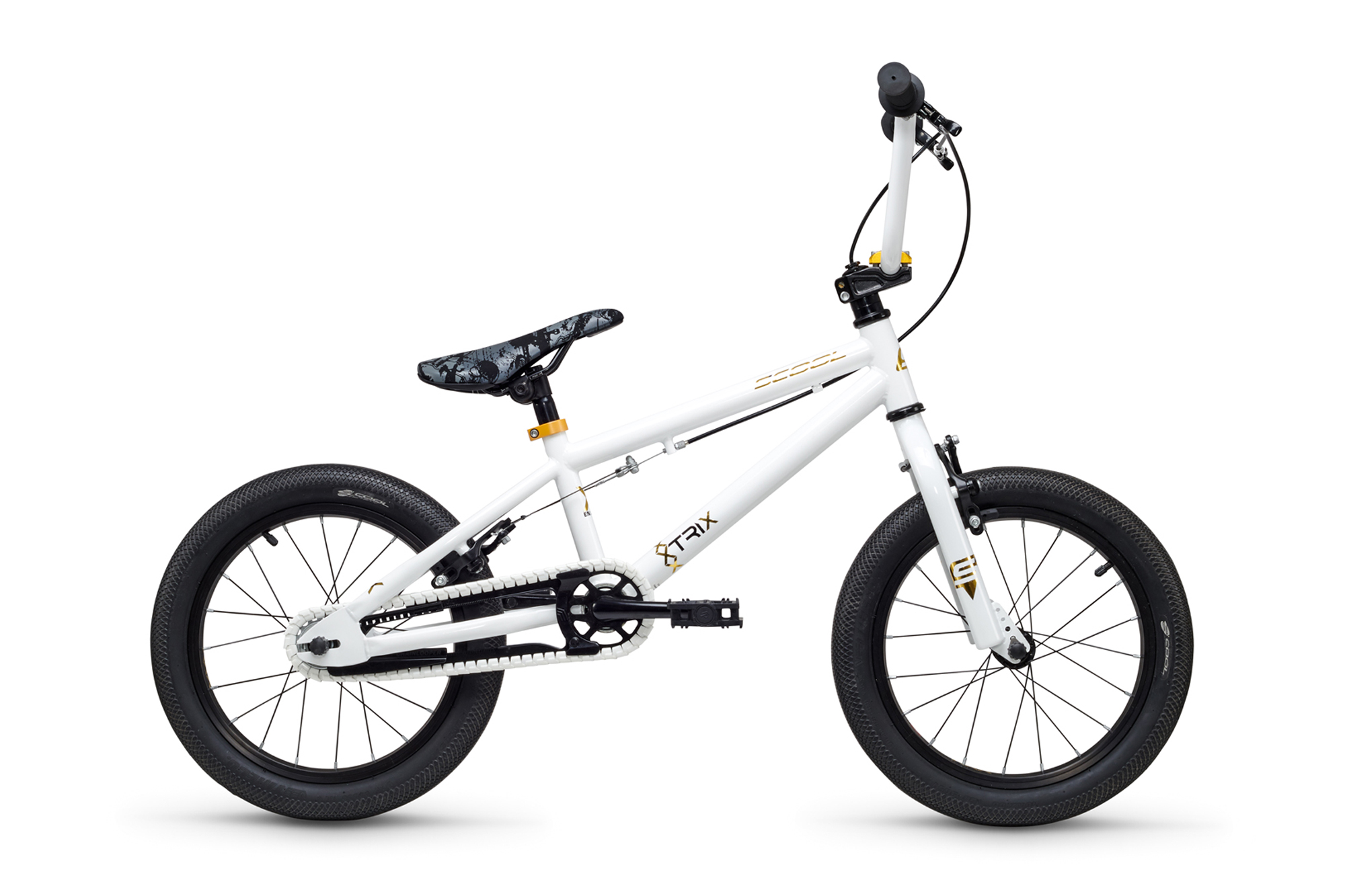 S´COOL XTRIX MINI 16 - BMX white / gold