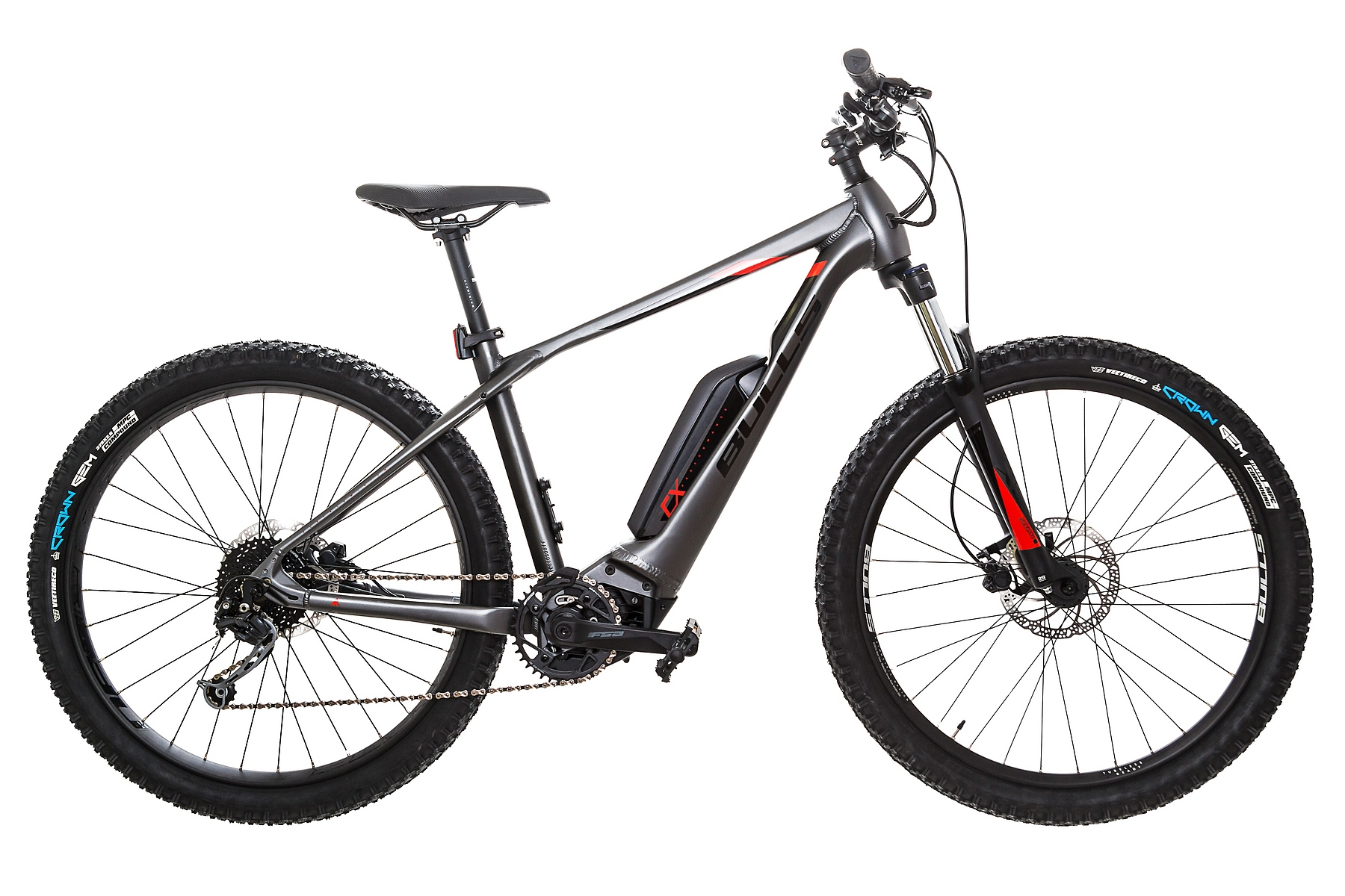 BULLS Copperhead E2 27,5 400 Wh - black chrome - 2020