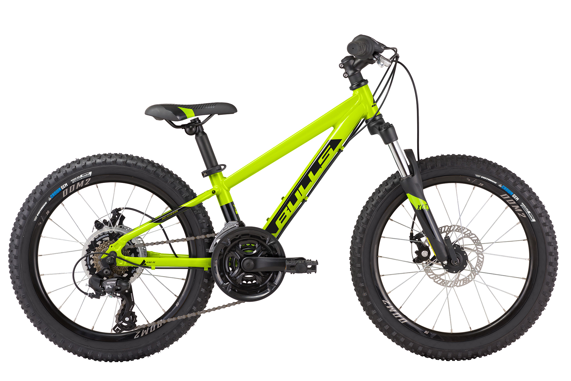 BULLS Tokee 20 Disc - Jugend-MTB metallic lime - 2021