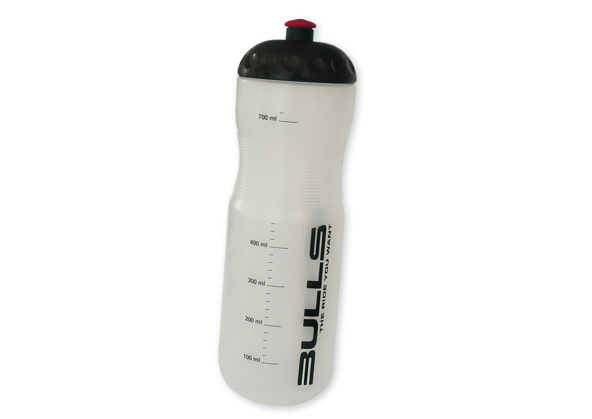 "ELITE Trinkflasche ""Team Bulls"" - transparent"